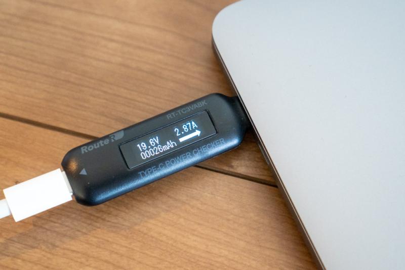 16インチMacBook Proを充電