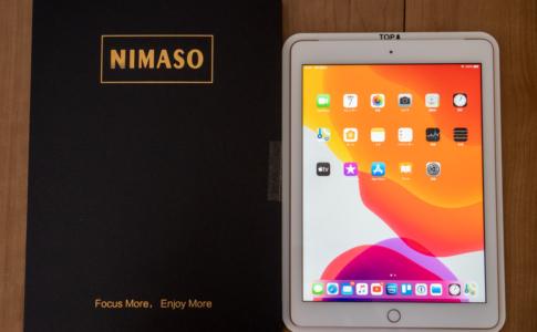 Nimaso「ガイド枠付きiPad 9.7インチ(第6世代iまで) ガラスフィルム」レビュー