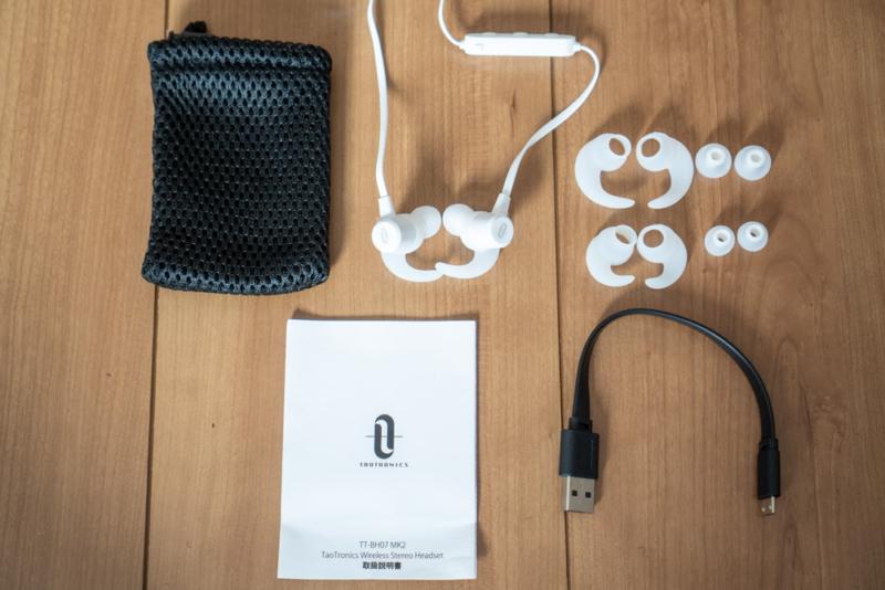 充電はmicro USB