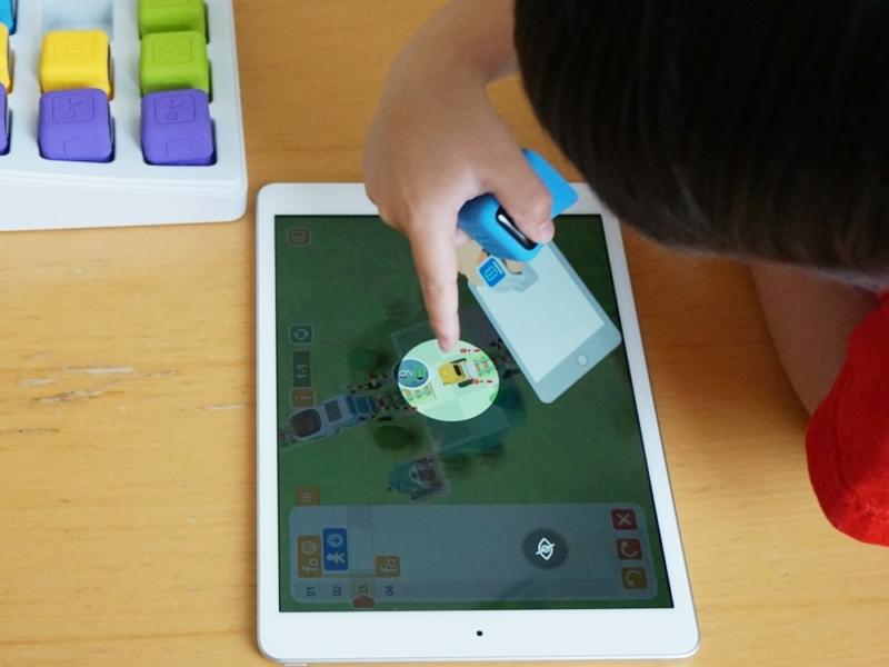 【Tangiplay Coad N Play】簡単な指示を確認する子供