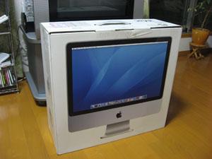 2007年に購入した整備済み品iMac