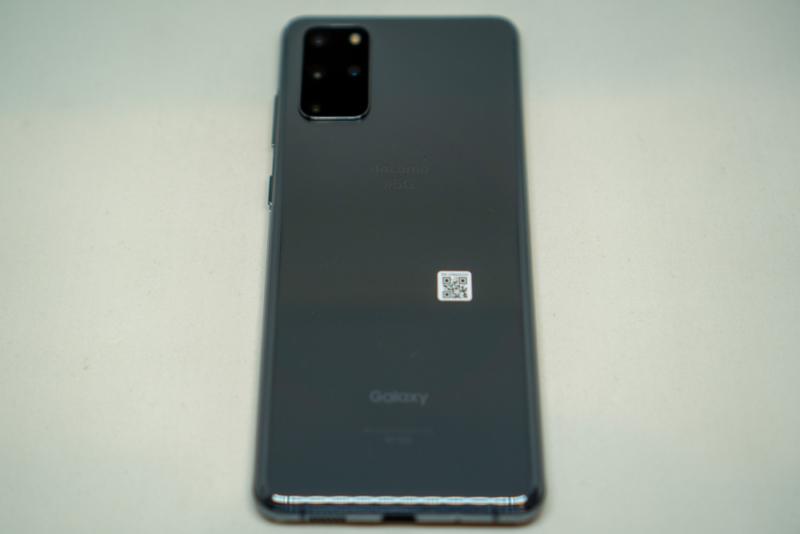 Galaxy S20+ 5G本体背面