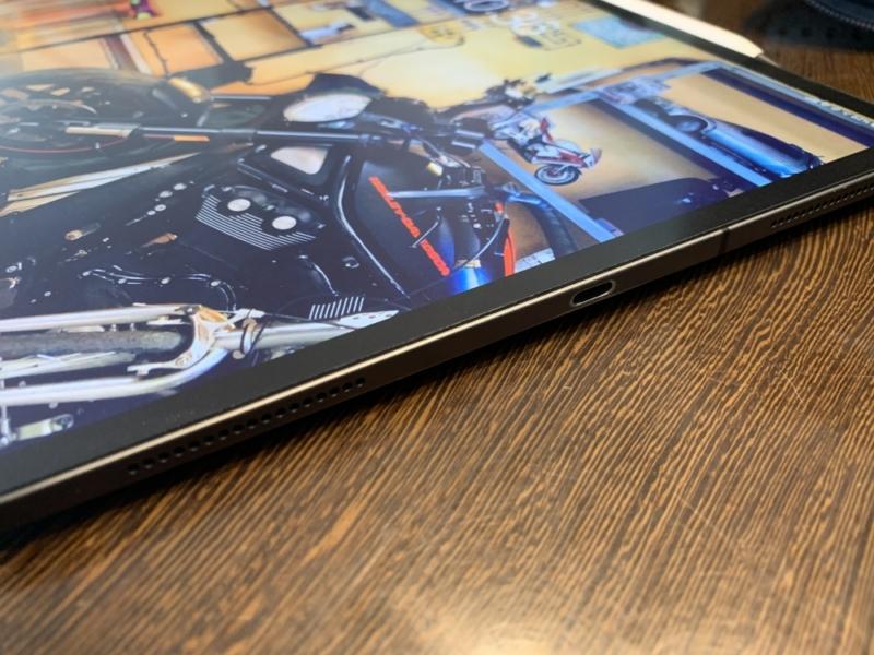 iPad ProはUSB-Cポートが一つしかない