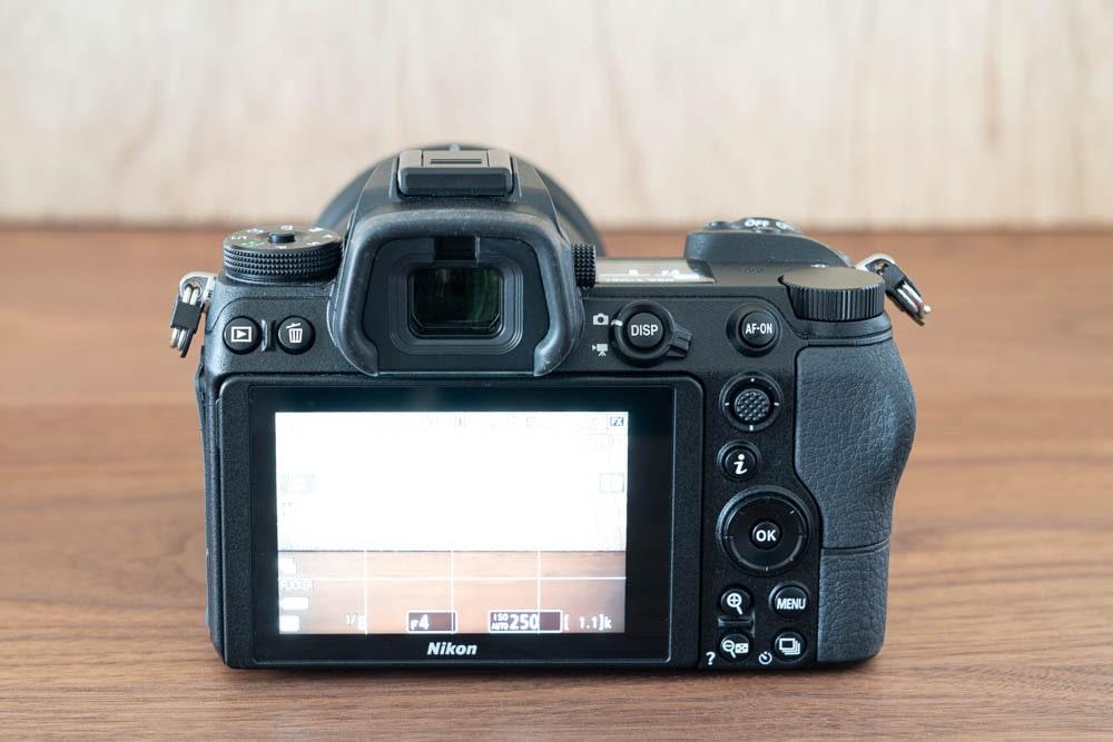 Nikon Z6 背面