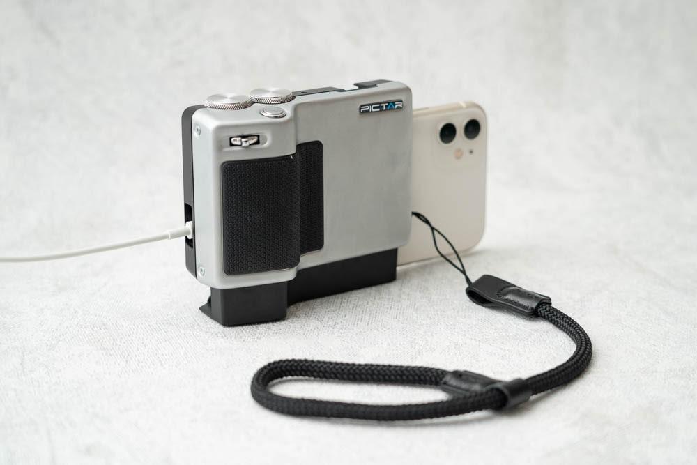 miggo PICTAR PRO Smartphone Camera Grip ストラップ