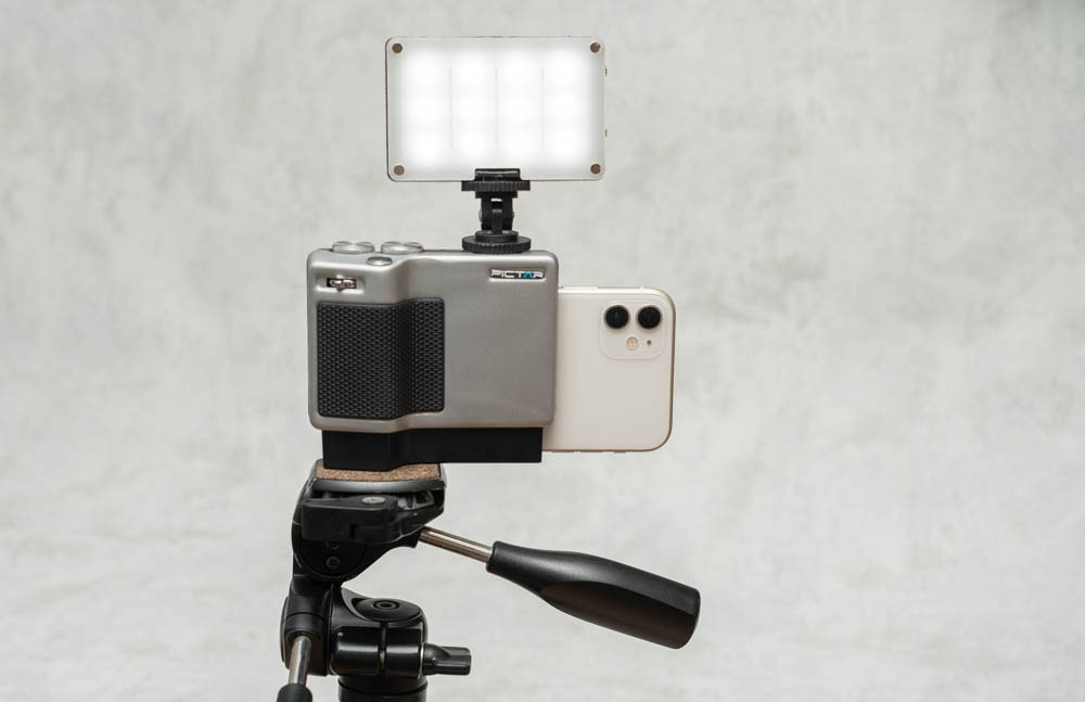 miggo PICTAR PRO Smartphone Camera Grip 拡張性