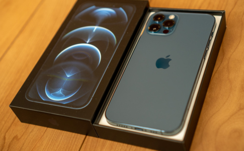 iPhone 12 Pro パシフィックブルー開封フォトレポート