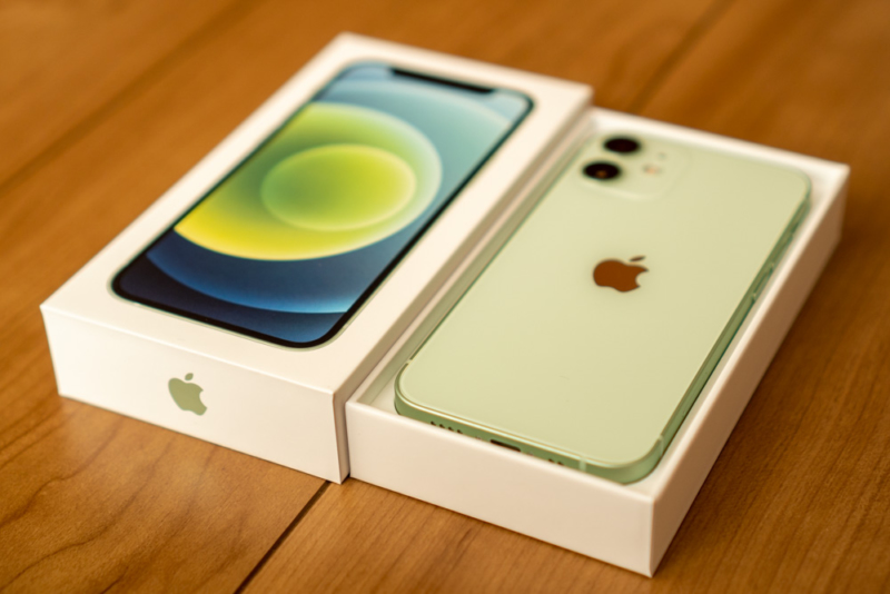 iPhone 12 mini開封フォトレビュー