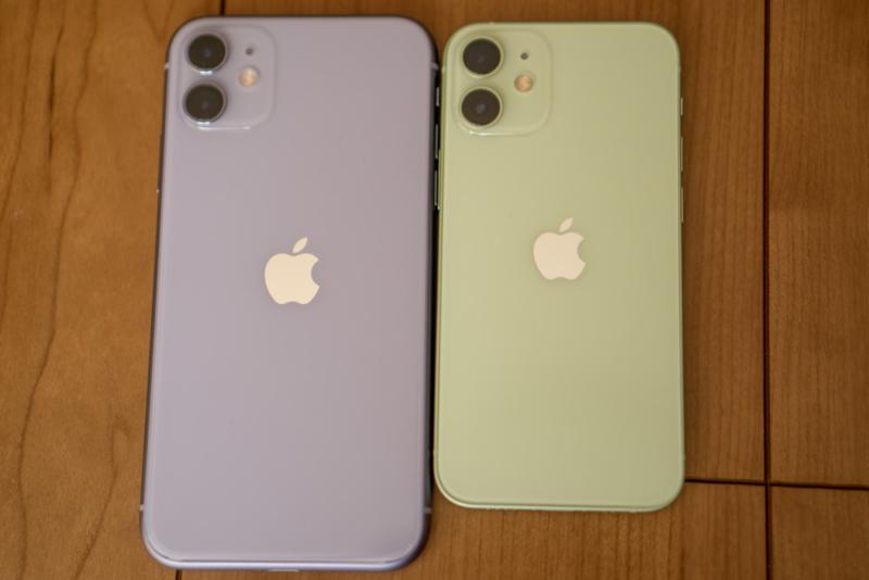 iPhone 11と比較