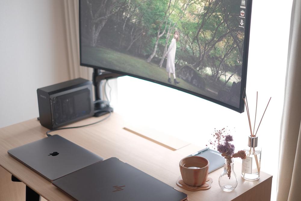 LG「34WL75C」曲面ウルトラワイドディスプレイ