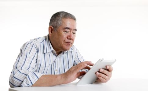 高齢者といえばiPad?