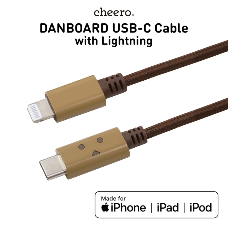 cheeroDANBOARD USB-C Cable with Lightning