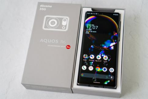 AQUOS R6レビュー