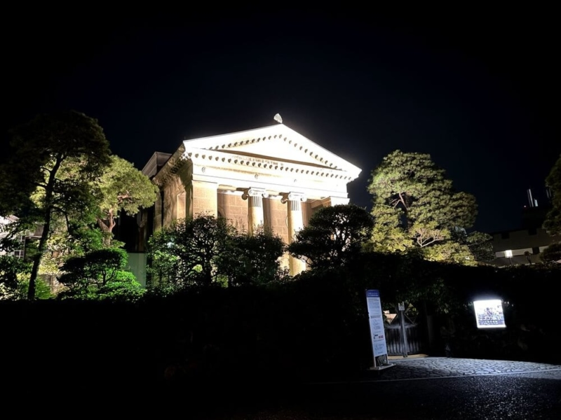 iPhone 12 Proで撮影(大原美術館)