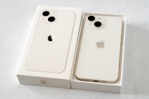iPhone 13 mini スターライト開封フォトレポート
