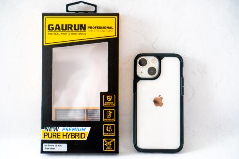 GAURUN「iPhone 13用ピュア・ハイブリッド ブラックエディション」レビュー